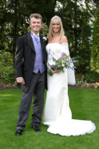 Andy Whittaker and Karen Whittaker Wedding Day 24th April 2004